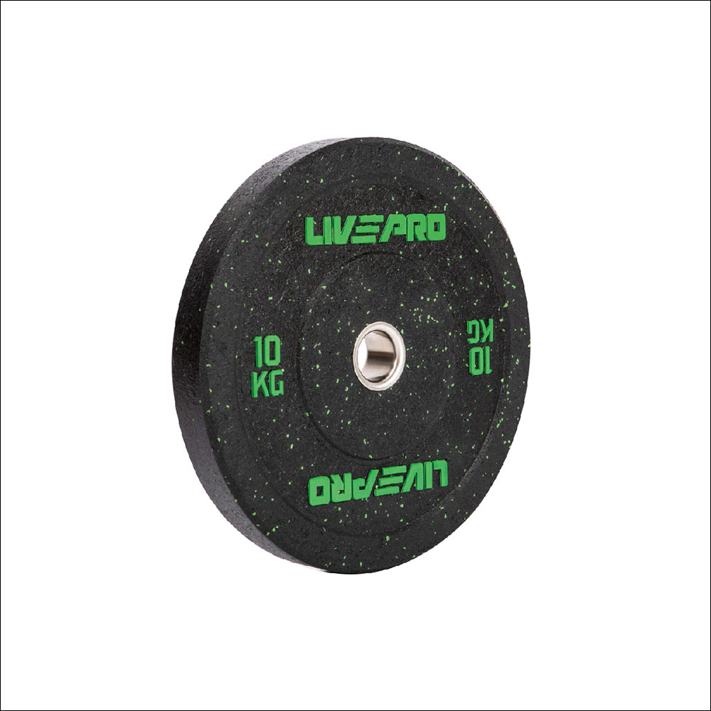 BLACK HIGH ELASTICITY BUMPER PLATE